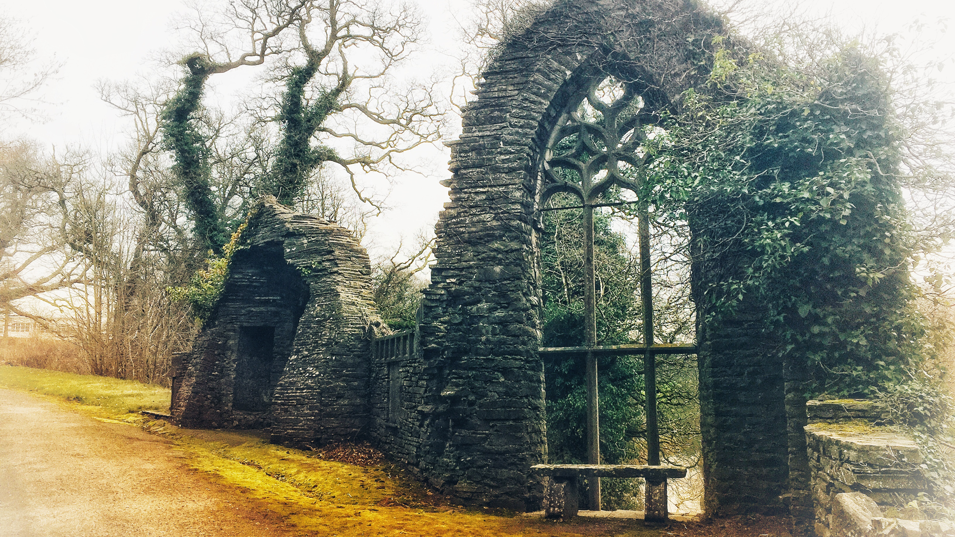 Gothic Ruin at Heywood Ballinakill
