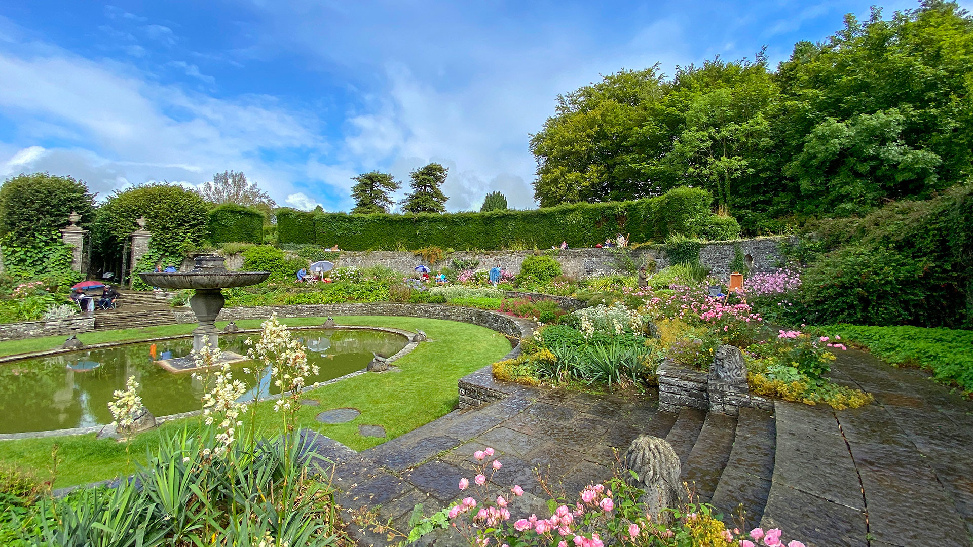 En Plein Air heywood Gardens, Ballinakill